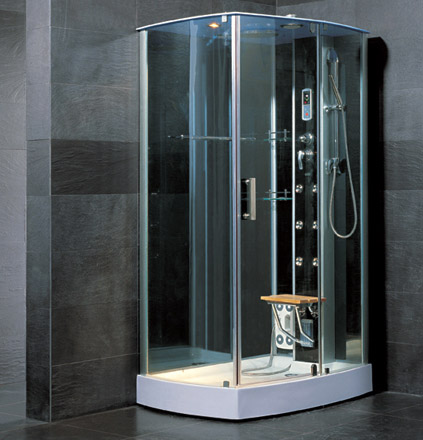 Luxury spas and whirlpool bathtubs ow d04 steam shower - Luxury steam showers ...