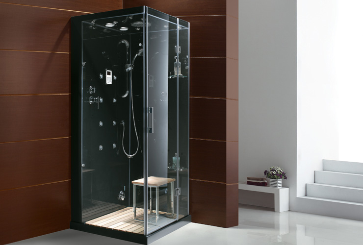 Luxury spas and whirlpool bathtubs ow 6023 steam shower - Luxury steam showers ...