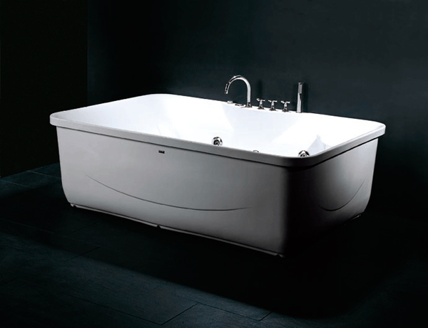 Luxury Spas And Whirlpool Bathtubs OW 9046 Jetted Tub