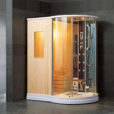Luxury spas and whirlpool bathtubs ow d06 steam shower - Luxury steam showers ...