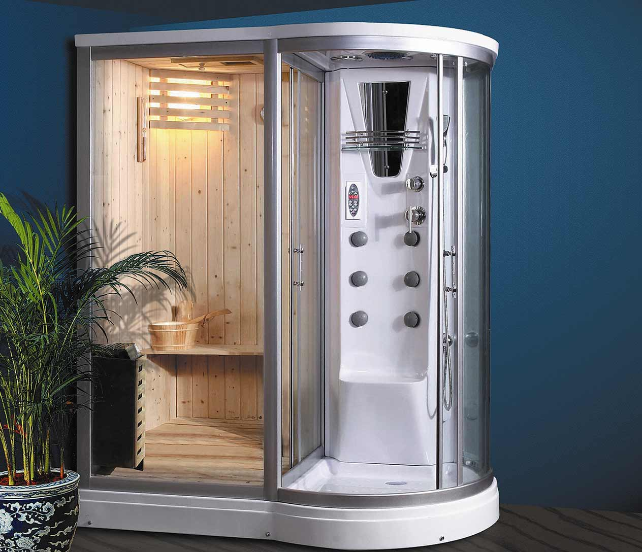 Ax 8128 Steam Shower L Luxury Spas Inc